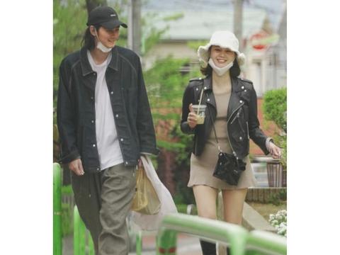 モデルで堀北真希の妹NANAMIと俳優の栁俊太郎が路地裏デート