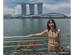 福田萌さん 現在のシンガポールでの一家4人生活を語る「日本の緊急事態宣言より厳しい」