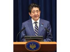 安倍首相 会見にて退任理由を正式発表「持病の再発」