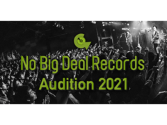 No Big Deal Records 音楽センス抜群な子集まれオーディション