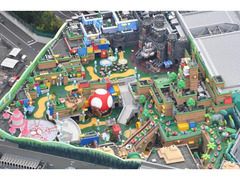 USJ 任天堂エリア一部公開 「スーパー・ニンテンドー・ワールド」開業は2月4日