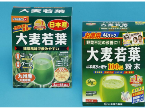 類似の青汁商品、販売中止 「大麦若葉」の商標権巡り和解