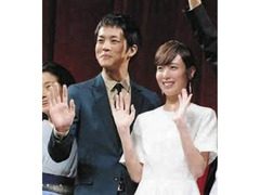 松坂桃李 戸田恵梨香との結婚を発表「結婚いたしました」 15年の映画で共演 ムロツヨシは振られる…